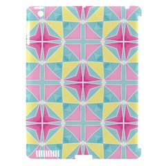 Pastel Block Tiles Pattern Apple Ipad 3/4 Hardshell Case (compatible With Smart Cover) by TanyaDraws