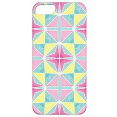 Pastel Block Tiles Pattern Apple Iphone 5 Classic Hardshell Case by TanyaDraws