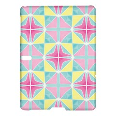 Pastel Block Tiles Pattern Samsung Galaxy Tab S (10 5 ) Hardshell Case  by TanyaDraws