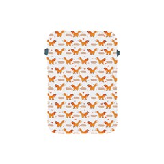 Fox And Laurel Pattern Apple Ipad Mini Protective Soft Cases by TanyaDraws