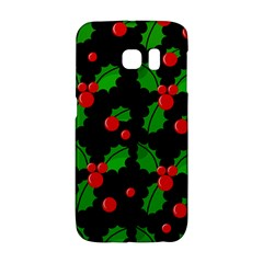 Christmas Berries Pattern  Galaxy S6 Edge