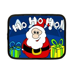 Santa Claus  Netbook Case (small)  by Valentinaart