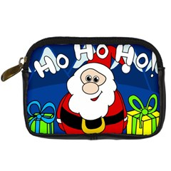 Santa Claus  Digital Camera Cases by Valentinaart