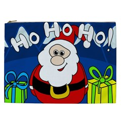 Santa Claus  Cosmetic Bag (xxl)  by Valentinaart