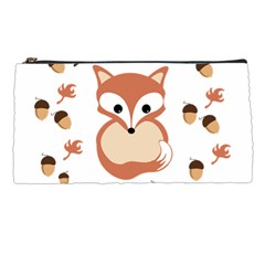 Fox In Autumn Pencil Cases by vanessagf