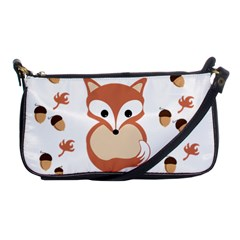 Fox In Autumn Shoulder Clutch Bags by vanessagf