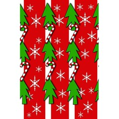Christmas Tree Pattern   Red 5 5  X 8 5  Notebooks