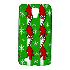Christmas Pattern   Green Galaxy S4 Active by Valentinaart