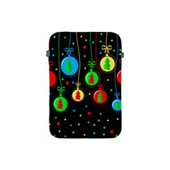 Christmas Balls Apple Ipad Mini Protective Soft Cases by Valentinaart