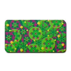 Christmas Decor   Green Medium Bar Mats by Valentinaart