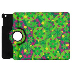 Christmas Decor   Green Apple Ipad Mini Flip 360 Case by Valentinaart