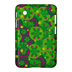 Christmas Decor   Green Samsung Galaxy Tab 2 (7 ) P3100 Hardshell Case  by Valentinaart