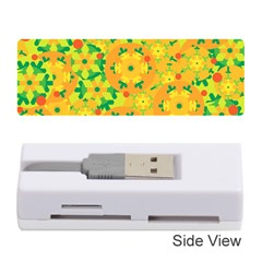 Christmas Decor   Yellow Memory Card Reader (stick)  by Valentinaart