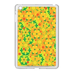 Christmas Decor   Yellow Apple Ipad Mini Case (white) by Valentinaart