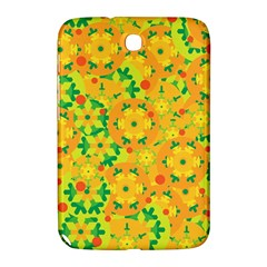 Christmas Decor   Yellow Samsung Galaxy Note 8 0 N5100 Hardshell Case  by Valentinaart