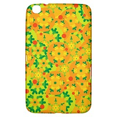 Christmas Decor   Yellow Samsung Galaxy Tab 3 (8 ) T3100 Hardshell Case  by Valentinaart