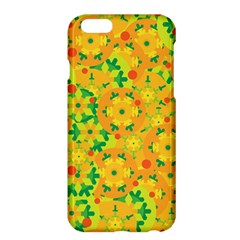 Christmas Decor   Yellow Apple Iphone 6 Plus/6s Plus Hardshell Case by Valentinaart