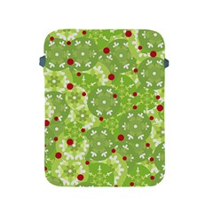 Green Christmas Decor Apple Ipad 2/3/4 Protective Soft Cases by Valentinaart