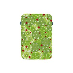 Green Christmas Decor Apple Ipad Mini Protective Soft Cases by Valentinaart