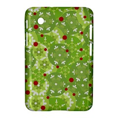 Green Christmas Decor Samsung Galaxy Tab 2 (7 ) P3100 Hardshell Case  by Valentinaart