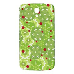 Green Christmas Decor Samsung Galaxy Mega I9200 Hardshell Back Case by Valentinaart