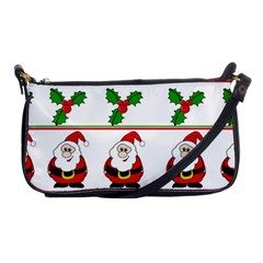 Christmas Pattern Shoulder Clutch Bags by Valentinaart