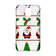 Christmas Pattern Samsung Galaxy S5 Hardshell Case  by Valentinaart