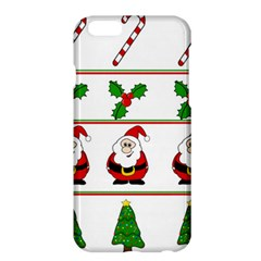 Christmas Pattern Apple Iphone 6 Plus/6s Plus Hardshell Case by Valentinaart