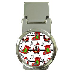 Christmas Song Money Clip Watches by Valentinaart