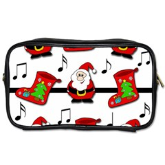 Christmas Song Toiletries Bags by Valentinaart