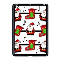 Christmas Song Apple Ipad Mini Case (black) by Valentinaart