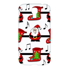 Christmas Song Samsung Galaxy S4 I9500/i9505 Hardshell Case by Valentinaart