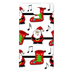 Christmas Song Galaxy Note 4 Back Case by Valentinaart