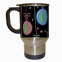 Christmas Balls   Pastel Travel Mugs (white) by Valentinaart