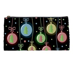 Christmas Balls   Pastel Pencil Cases by Valentinaart