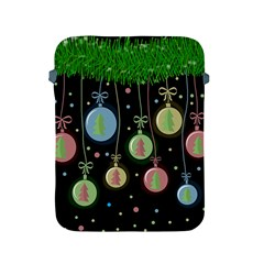 Christmas Balls   Pastel Apple Ipad 2/3/4 Protective Soft Cases by Valentinaart