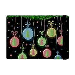Christmas Balls   Pastel Ipad Mini 2 Flip Cases