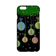 Christmas Balls   Pastel Apple Iphone 6/6s Hardshell Case by Valentinaart