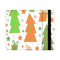 Christmas Design   Green And Orange Samsung Galaxy Tab Pro 8 4  Flip Case by Valentinaart