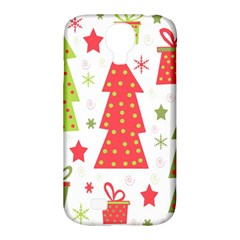 Christmas Design   Green And Red Samsung Galaxy S4 Classic Hardshell Case (pc+silicone) by Valentinaart