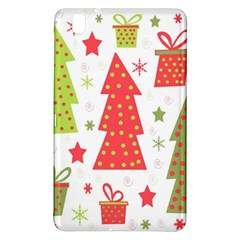Christmas Design   Green And Red Samsung Galaxy Tab Pro 8 4 Hardshell Case by Valentinaart