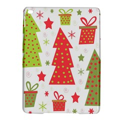 Christmas Design   Green And Red Ipad Air 2 Hardshell Cases by Valentinaart
