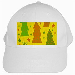 Christmas Design   Yellow White Cap by Valentinaart