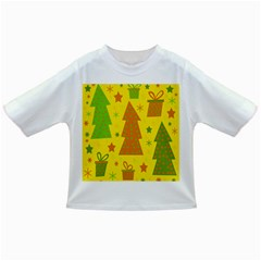 Christmas Design   Yellow Infant/toddler T Shirts by Valentinaart