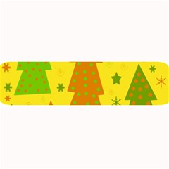 Christmas Design   Yellow Large Bar Mats by Valentinaart