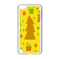 Christmas Design   Yellow Apple Ipod Touch 5 Case (white) by Valentinaart