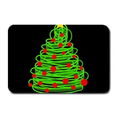 Christmas Tree Plate Mats by Valentinaart