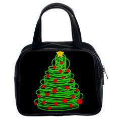 Christmas Tree Classic Handbags (2 Sides)