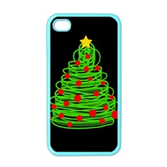 Christmas Tree Apple Iphone 4 Case (color) by Valentinaart