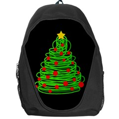 Christmas Tree Backpack Bag by Valentinaart